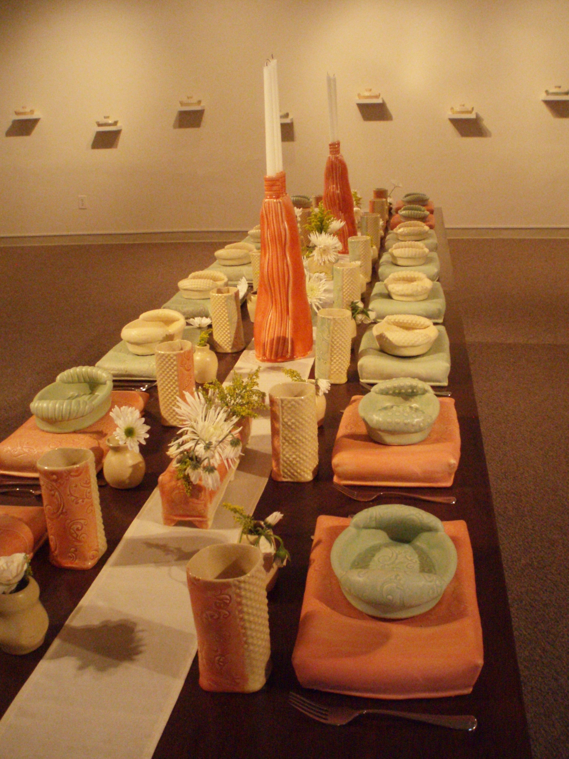 """Master's Thesis Exhibition """"Invited"""", 2008"""