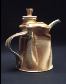 Soda Fired Altered Teapot